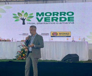 André Krull, sócio do Rusch Advogados, participou de evento no município de Morro do Chapéu, Bahia.